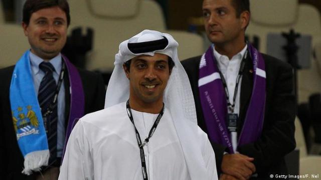 Fußball Manchester City Scheich Mansour Bin Zayed Al Nahyan (Getty Images / F. Nel)