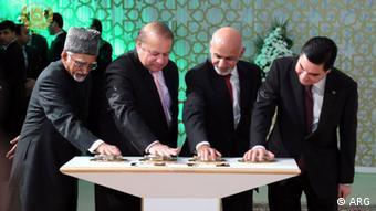 Turkmenistan TAPI Gaspipeline Projekt (ARG)