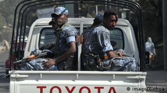 Äthiopien Polizei (imago/Xinhua)