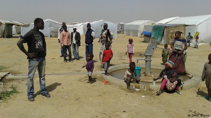 Tschad Flüchtlingslager (DW/D. Blaise)