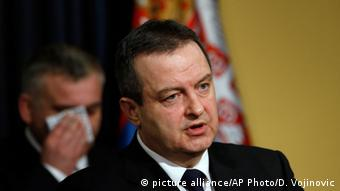Serbien Außenminister Ivica Dacic (picture alliance/AP Photo/D. Vojinovic)
