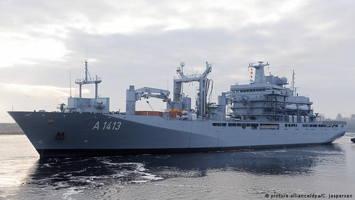 EGV Bonn in dock