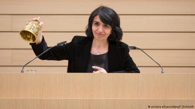 Muhterem Aras Porträt Bündnis 90 / Die Grünen Stuttgart