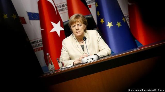 Commenting on what is happening, German Chancellor Angela Merkel said that the destabilization of the Turkish economy is not in the interest of any party, stressing the importance of the independence of the Central Bank of Turkey to contribute effectively in dealing with the current situation.