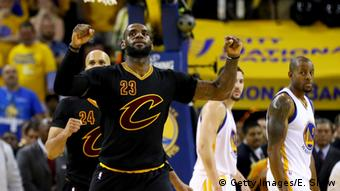 NBA Champion Cleveland Cavaliers LeBron James (Getty Images/E. Shaw)
