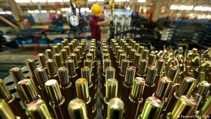 China Automobilfabrik (Reuters/China Daily)