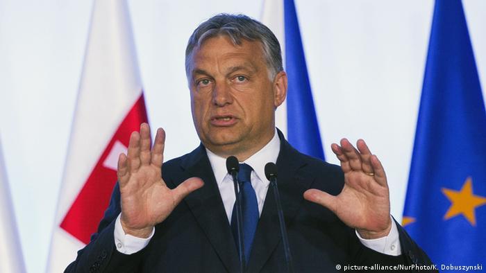 Hungarian Prime Minister Viktor Orban (picture-alliance/NurPhoto/K. Dobuszynski)