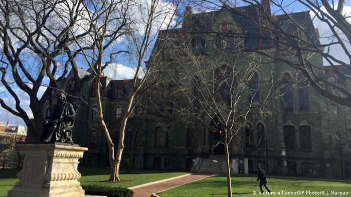 USA - The Wharton School, Ex-Universität von Donald Trump (picture-alliance/AP Photo/B.J. Harpaz)