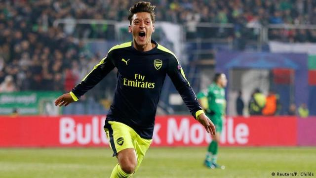 UEFA Champions League PFC Ludogorets Razgrad vs. Arsenal - Mesut Özil (Reuters / P Childs)