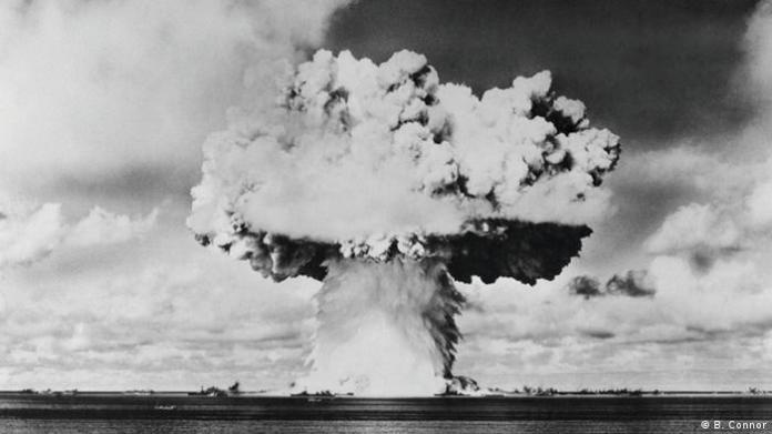 nuclear bomb explosion (B. Connor)