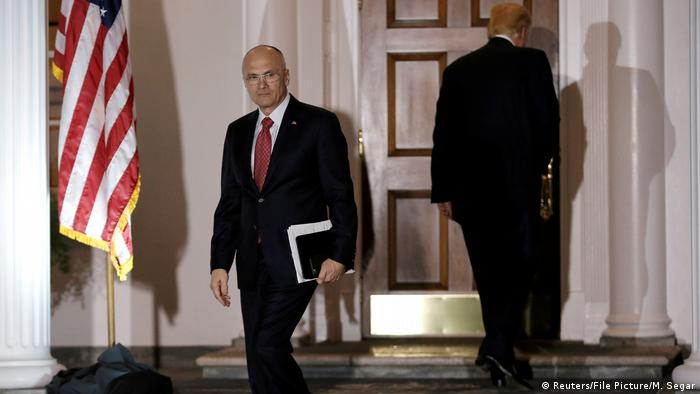 USA Andy Puzder (Reuters/File Picture/M. Segar)