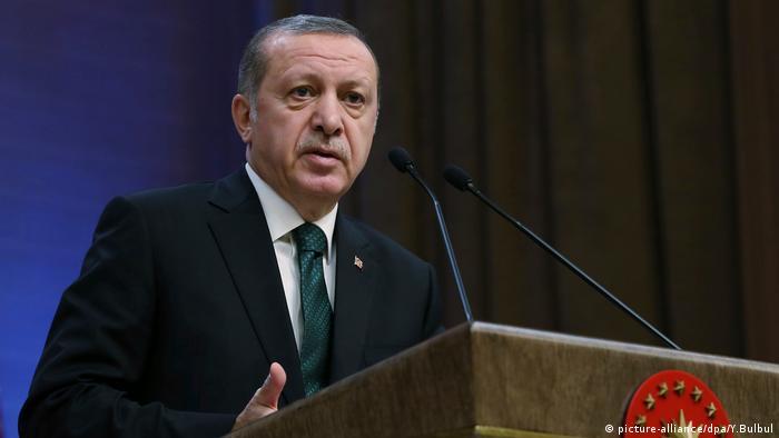 Türkei Recep Tayyip Erdogan Ankara (picture-alliance/dpa/Y.Bulbul)