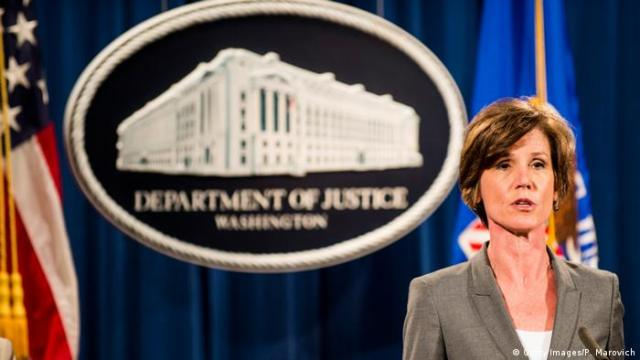 Washington Sally Q. Yates Vize-Justizministerin (Getty Images / P. Marovich)