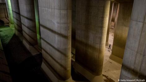 G-Cans in Tokyo Zisterne Hochwasserschutz System Flut (Getty Images/C.McGrath)