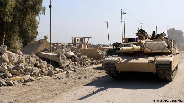 Irak Kampf um West-Mossul (Reuters/Z. Bensemra)