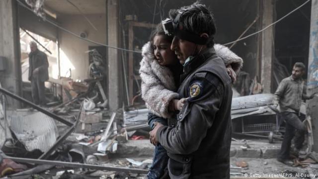 Syrien - Kinder im Krieg (Getty Images / AFP / S. Al-Doumy)