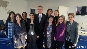 NATO Jens Stoltenberg Women's Day (NATO press)