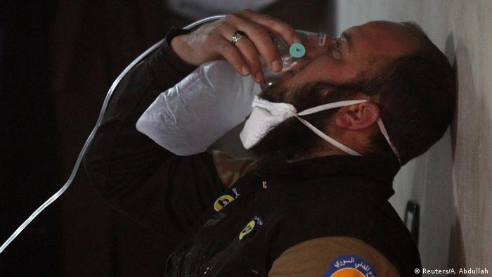 Syrien Krieg - mutmaßlicher Giftgasangriff in Chan Schaichun (Reuters/A. Abdullah)