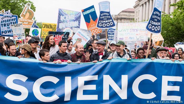 Science march in Washington. Photo credit: CQ-Roll Call,Inc./Bill Clark.
