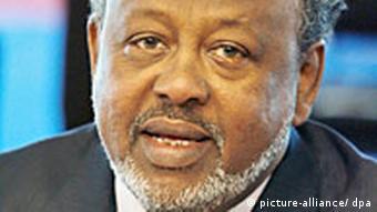 Präsident Ismail Omar Guelleh Dschibuti (picture-alliance/ dpa)