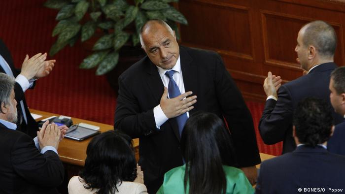 Bulgarien Premierminister Boiko Borisov (BGNES/O. Popov)