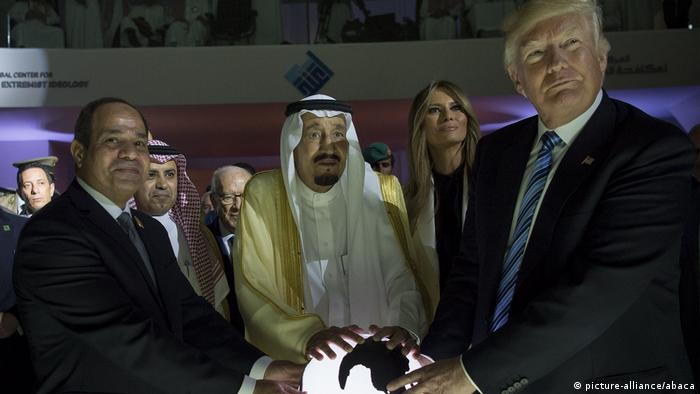 Trump visits Saudi Arabia (picture-alliance/abaca)