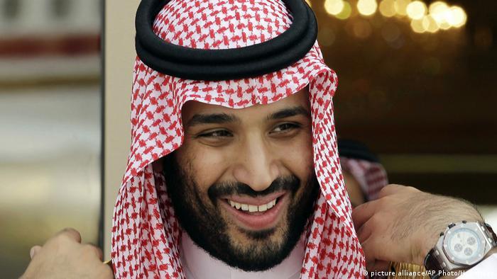 Mohammed bin Salman (picture alliance/AP Photo/H. Ammar)