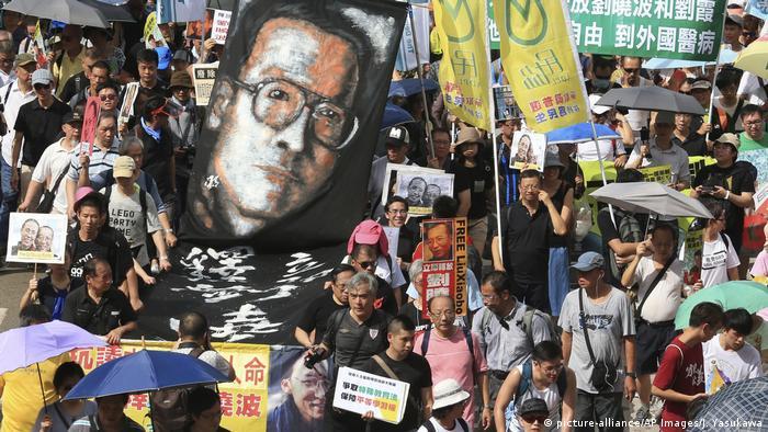 Hong Kong - Proteste (picture-alliance/AP Images/J. Yasukawa)