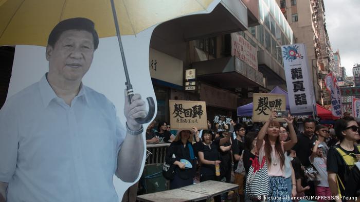 Hong Kong - Proteste (picture-alliance/ZUMAPRESS/S. Yeung)