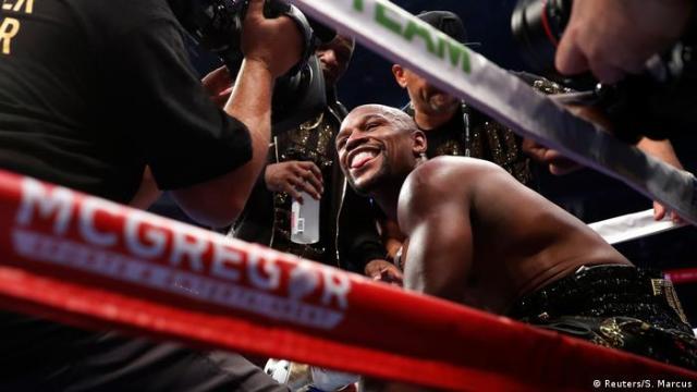 USA Las Vegas Boxkampf Floyd Mayweather Jr. - Conor McGregor (Reuters / S. Marcus)
