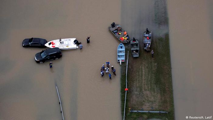 USA Hurrikan Harvey in Texas (Reuters/A. Latif)