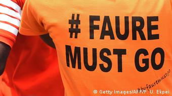 Togo Protest #Faure Must Go