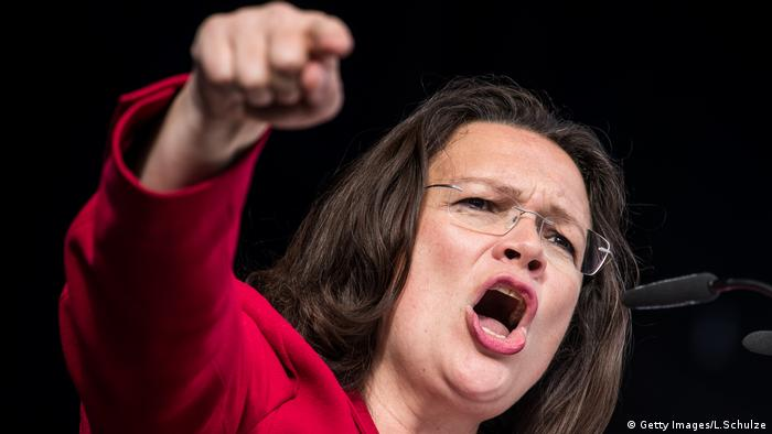 Image result for andrea maria nahles