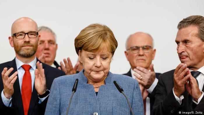 Bundestagswahl | Merkel (imago/S. Zeitz)