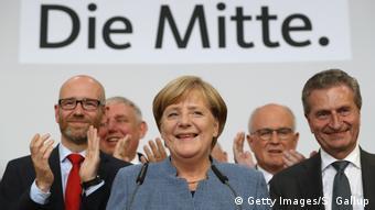 Deutschland Bundestagswahl Nachlese Merkel