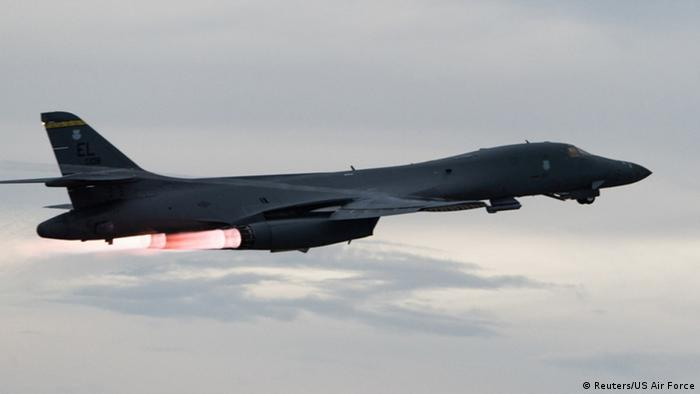 Japanisches Meer U.S. Air Force B-1B Langstreckenbomber (Reuters/US Air Force)