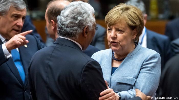 Angela Merkel at the EU Summit (Imago/Belga/D. Gys)