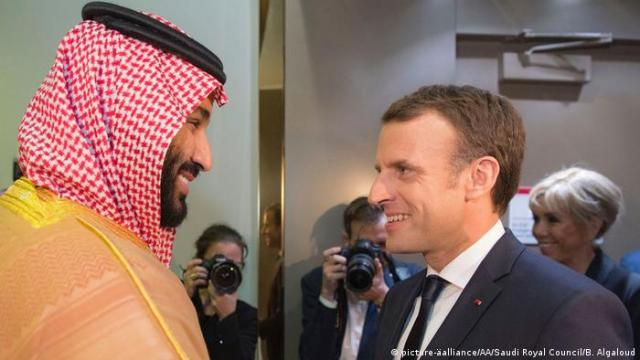 Saudi-Arabien Riad Besuch Emmanuel Macron (picture-äalliance / AA / Saudi Royal Council / B. Algaloud)