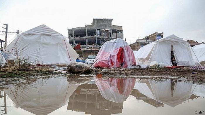 Iran Provinz Kermanshah nach dem Erdbeben (alef)