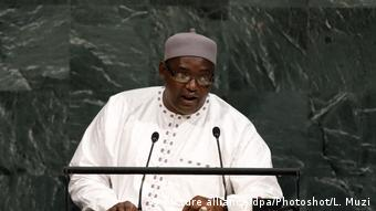 USA Adama Barrow Präsident von Gambia (picture alliance/dpa/Photoshot/L. Muzi)