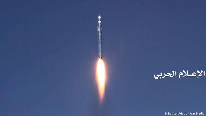 Ballistic missile fired at Saudi Arabia