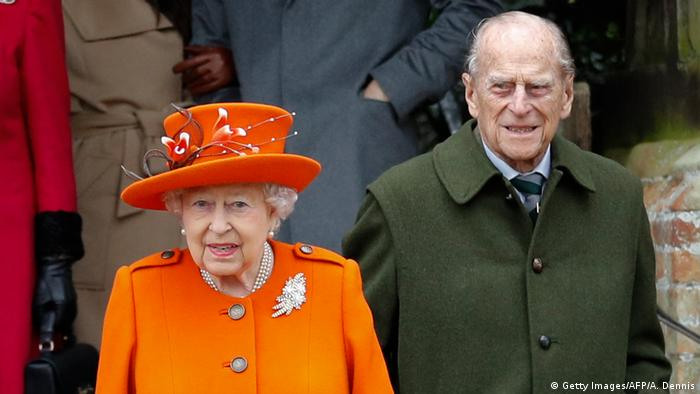 Prince Philip and Queen Elizabeth II (Getty Images/AFP/A. Dennis)
