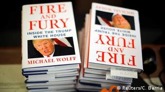 USA Washington Buch Fire and Fury: Inside the Trump White House (Reuters/C. Barria)