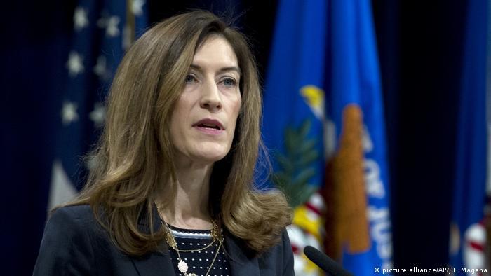 Associate Attorney General Rachel Brand (picture alliance/AP/J.L. Magana)
