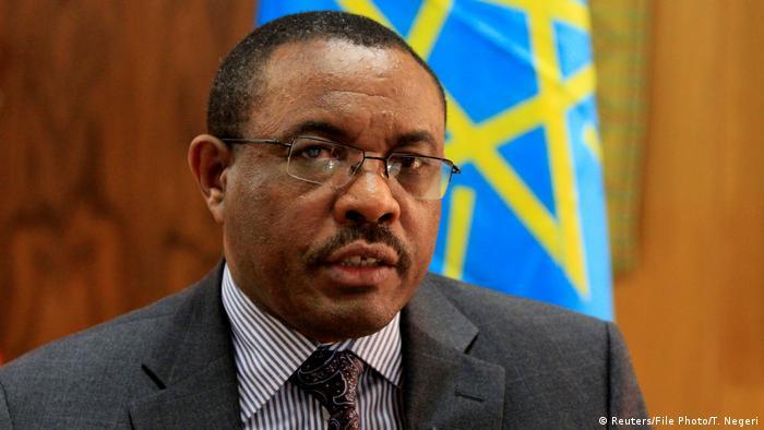 Image result for Ethiopian PM, Hailemariam Desalegn resigns