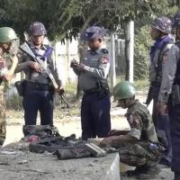 Explosions hit Myanmar's troubled Rakhine state