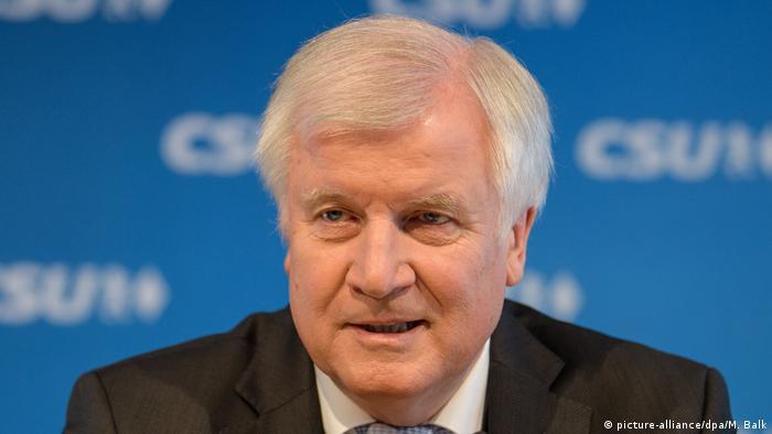German Interior Minister Horst Seehofer (picture-alliance/dpa/M. Balk)
