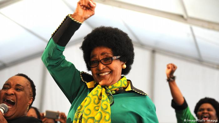 Südafrika Winnie Mandela (Imago/Gallo Images)