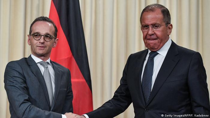 Außenminister Maas in Russland (Getty Images/AFP/Y. Kadobnov)
