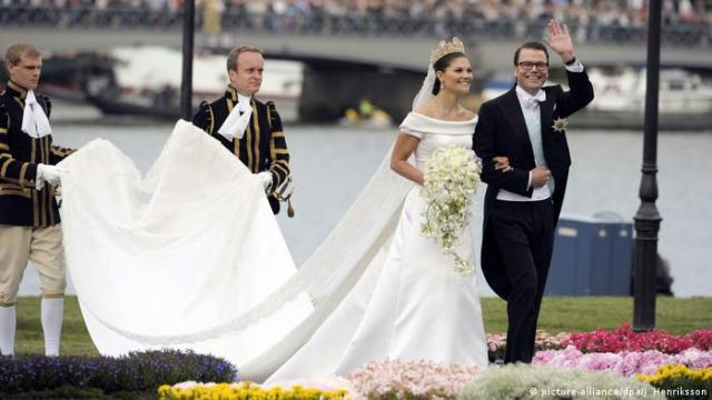 Sweden's Crown Princess Victoria and Prince Daniel, the Duke of Vastergotland